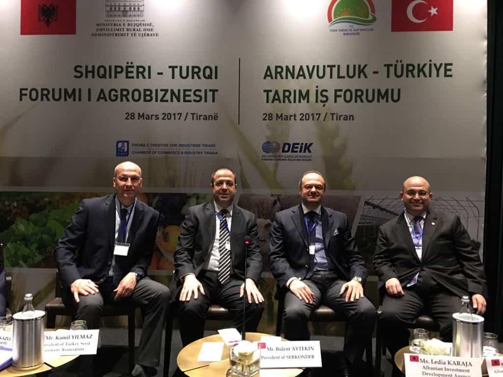 arnavutluk türkiye tarım forumu