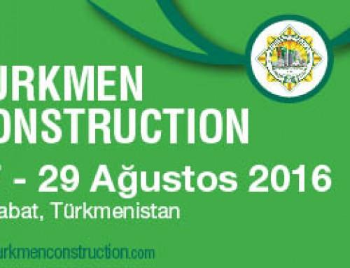 AYS Proje Turkmen Construction Fuarında